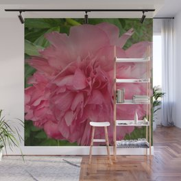 Rose Pink Peony by Teresa Thompson Wall Mural