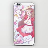 puppycat iPhone & iPod Skins featuring Bee & puppycat ver 2 by Kurodoj