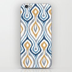 Sketchy Ikat - Saddle iPhone & iPod Skin