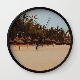 Mount Lavinia Beach, Colombo, Sri Lanka Wall Clock