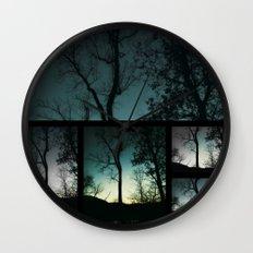 Farewell to Twilight Wall Clock