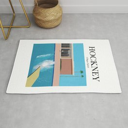 Hockney - A Bigger Splash Rug