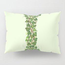 Leafy Letter I Pillow Sham