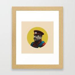 Soviet Mario Framed Art Print