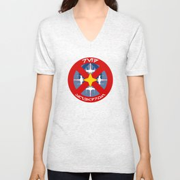 Red Squadron (Alliance) Unisex V-Neck