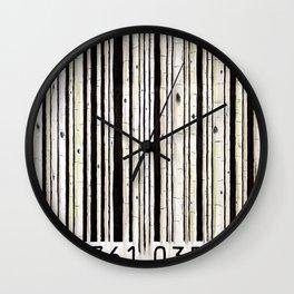barcode #2 Wall Clock