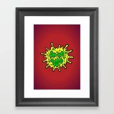 SLIMY Framed Art Print