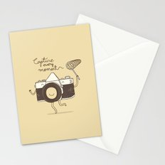 capture every moment Stationery Cards