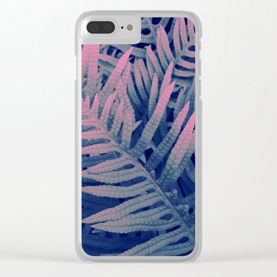Ferns#3 Clear iPhone Case
