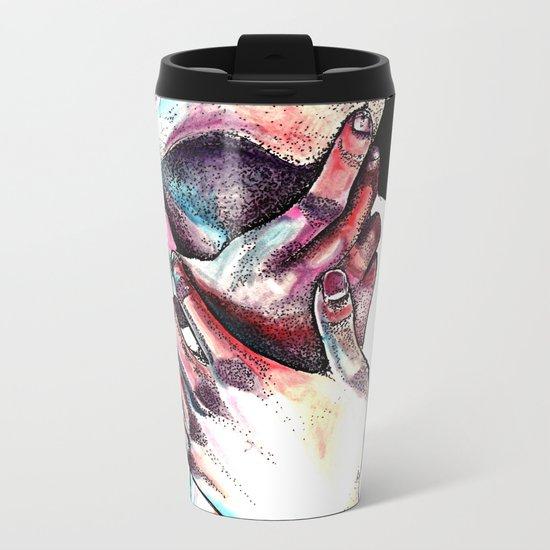 Lost in colors Metal Travel Mug