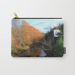 Autumn Reflections Grist Mill Carry-All Pouch