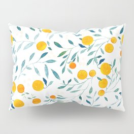 Orange Tree Pillow Sham