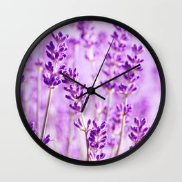 Lavender 207 Wall Clock