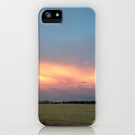 Rural Warmth iPhone Case