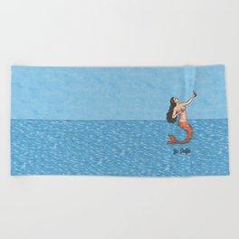 La Selfie Beach Towel