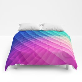 Abstract Colorful Art Pattern (LTBG - Low poly) - Texture aka. Spectrum Bomb! (Photoshop Colorpicker Comforters