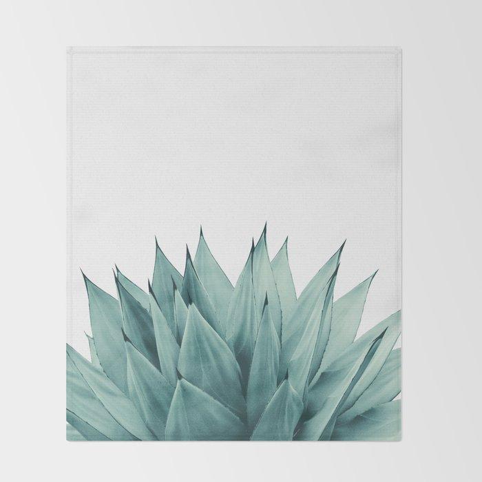 Agave Vibes #8 #tropical #decor #art #society6 Throw Blanket