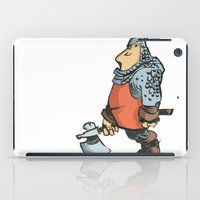 soldier iPad Cases featuring Soldier by Inigo Izal