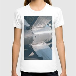 Ballistic Rocket. Nuclear Missile With Warhead. T-shirt