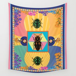 Embryonic Beetle Roach Milk Wall Tapestry