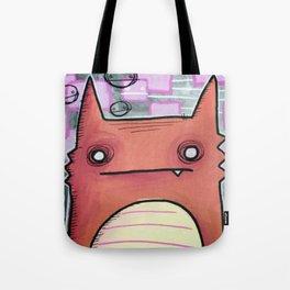 OUT PAST THE ELECTRIC LINES Tote Bag