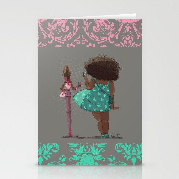 Girls! Stationery Cards