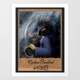 Captain Blackbeak Art Print