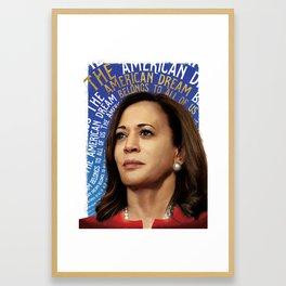 American Dream (Kamala Harris) Framed Art Print