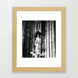 St Winefride Framed Art Print