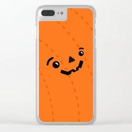 Jack o' Pumpkin Clear iPhone Case