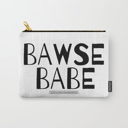 Bawse Babe Tee Carry-All Pouch