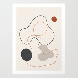 Abstract Minimal Art 23 Art Print