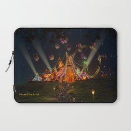 Circus from Vincent the Artist Laptop Sleeve