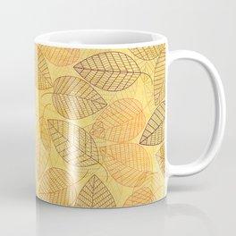 LEAVES ENSEMBLE YELLOW Coffee Mug