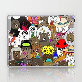 Bears Gone Wild Laptop & iPad Skin