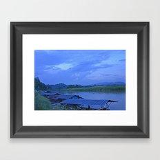 Me Khong River Framed Art Print