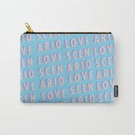 Love Scenario - Typography Carry-All Pouch