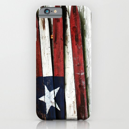 The Grand Ol' Wooden Flag iPhone & iPod Case