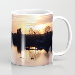 Floodplain at Sunset 4 Coffee Mug