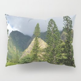Hawaii Mountain and Forest Pillow Sham