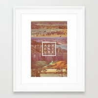adventure Framed Art Prints featuring Adventure by Zeke Tucker