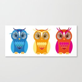 Sad, Happy, Angry Canvas Print