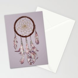 dreamcatcher purple Stationery Cards