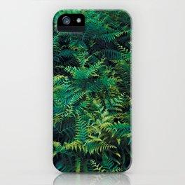 Ferns iPhone Case