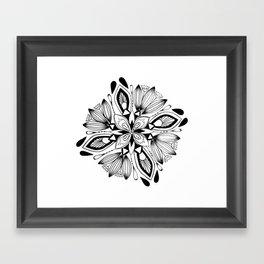 Mandala III Framed Art Print