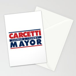 CARCETTI FOR MAYOR Stationery Cards