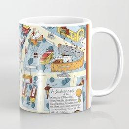 MINNEAPOLIS University map MINNESOTA dorm decor Coffee Mug
