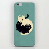 yetiland iPhone & iPod Skins featuring we need each other by Yetiland