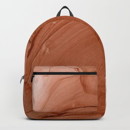 Rust Calming Abstract Painting Backpack