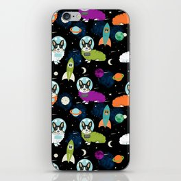 Corgi astronaut tri colored corgi space cadet outer space dog breed corgis iPhone Skin